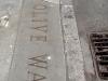 Index granite curb in Seattle