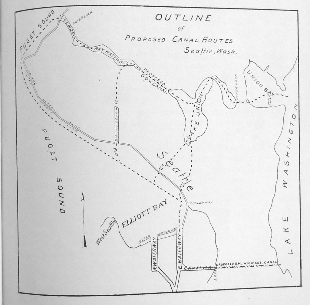 North Ship Canal Routes