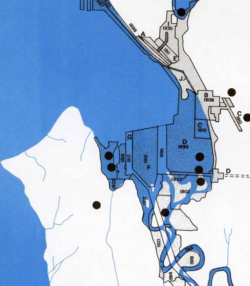 From: Determinants of City Form, City of Seattle, 1971