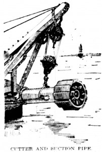 Close up of the Cutter Head