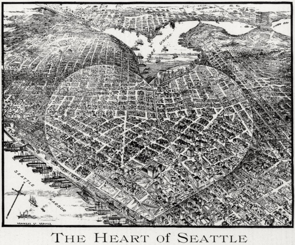 heart of seattle map