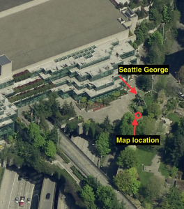 Location of Map at Convention Center