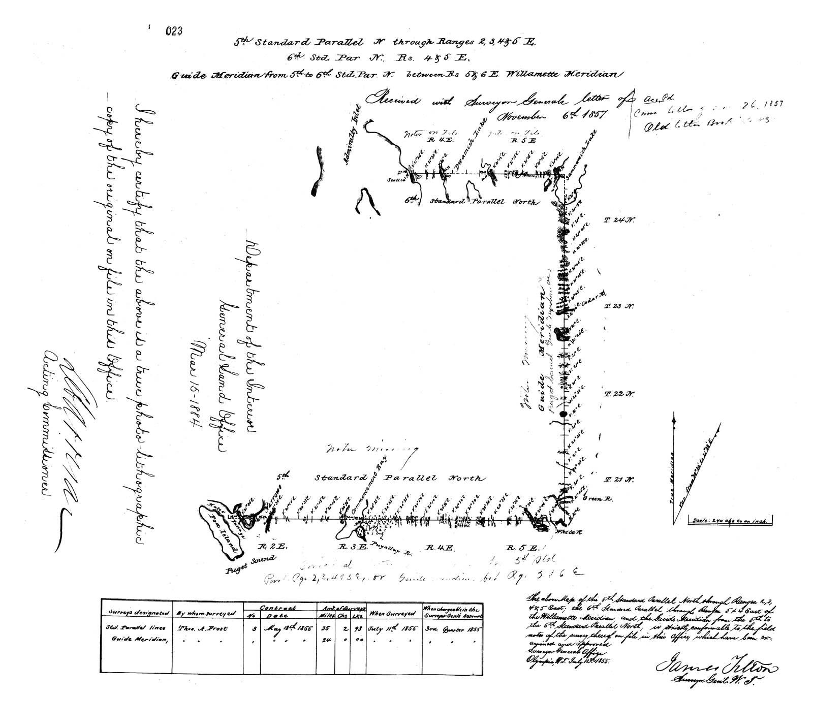survey map 1865.seattlegeorge