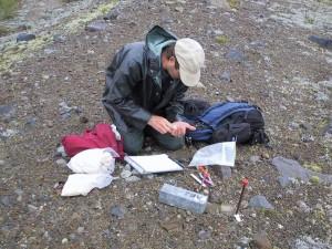 Studying Mount Saint Helens
