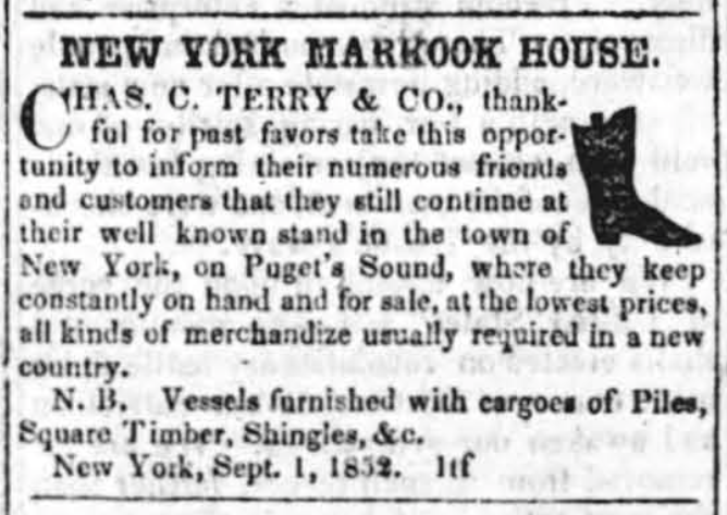 Charles Terry Advertisment