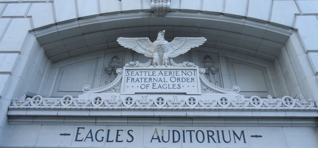 Former Eagles Auditorium, now ACT Theater