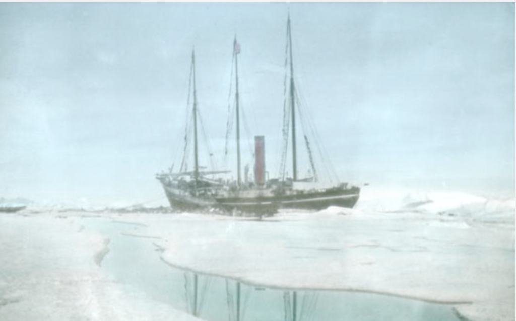 The Roosevelt at Ellesmere Island - Peary-MacMillan Arctic Museum and Arctic Studies Center at Bowdoin