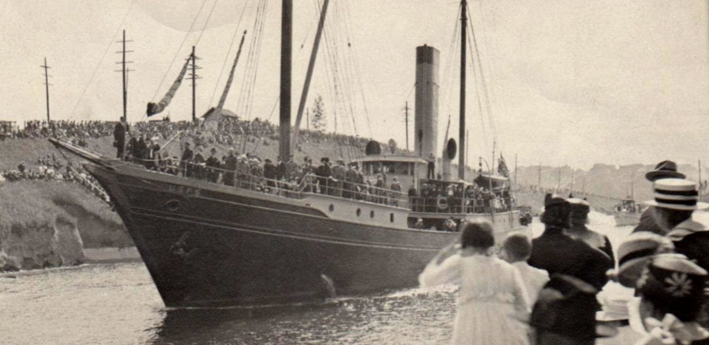 July 4, 1917  Ship Canal and the Roosevelt