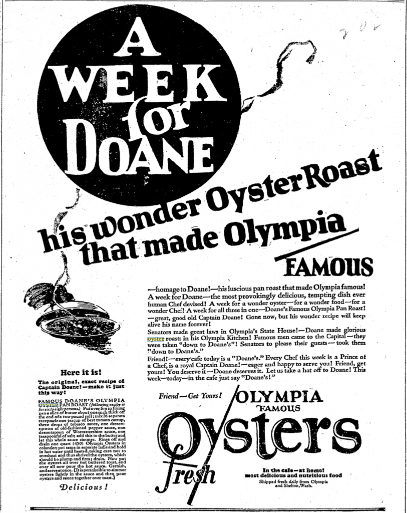 From Seattle Times: October 1923